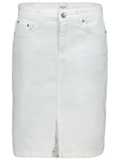 Saint Tropez Rok ALISONSZ DENIM SKIRT 30501252 BRIGHT WHITE