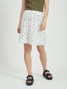 Vila Rok VIRILLABLUNIE HW SKIRT/L/SU 14059057 CLOUD DANCER