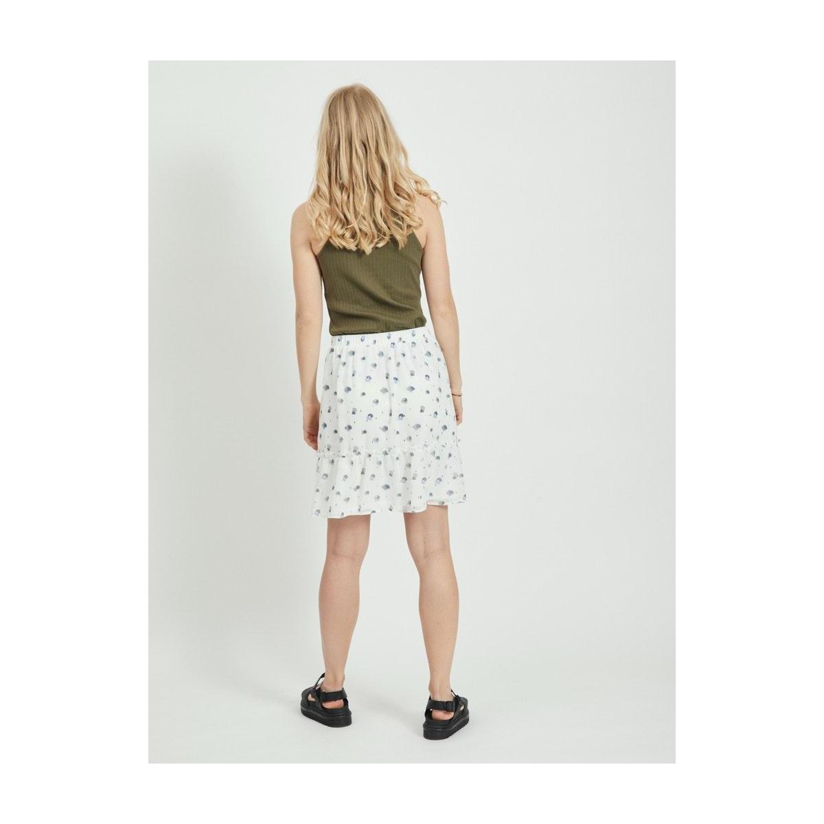 virillablunie hw skirt/l/su 14059057 vila rok cloud dancer