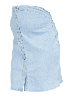 Mama-Licious Positie rok MLVILLA DENIM ABK SKIRT A. 20011070 Light Blue Denim