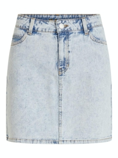 Vila Rok VIVALLERY RW SHORT DENIM SKIRT 14057419 Light Blue Denim