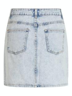 vivallery rw short denim skirt 14057419 vila rok light blue denim
