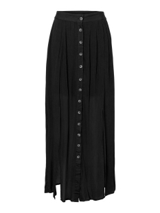 Noisy may Rok NMFLEUR HW SLIT LONG SKIRT 27011024 Black