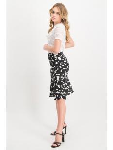 mh54 1 skirt maya lofty manner rok black white