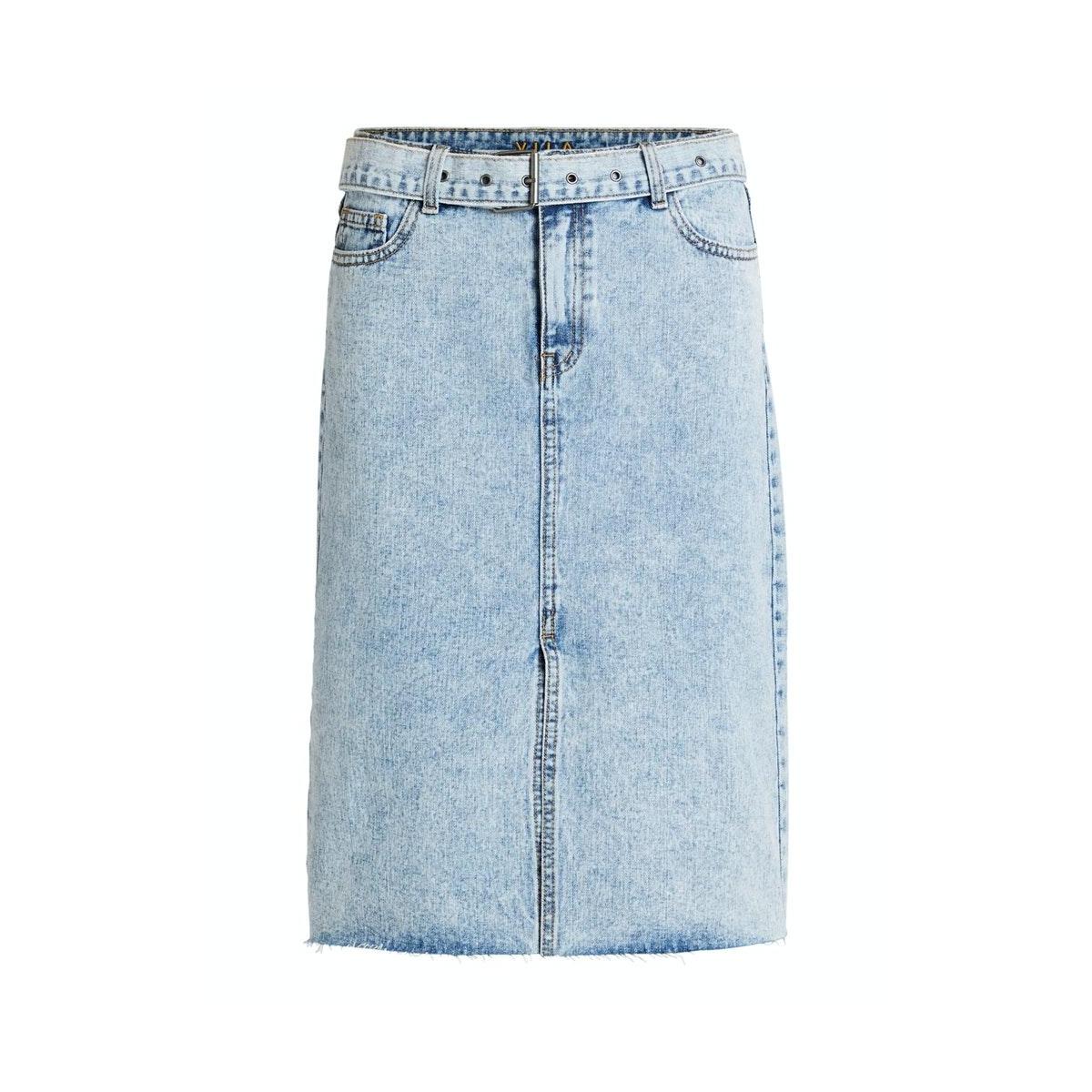 videnna hw denim skirt 14059527 vila rok light blue denim