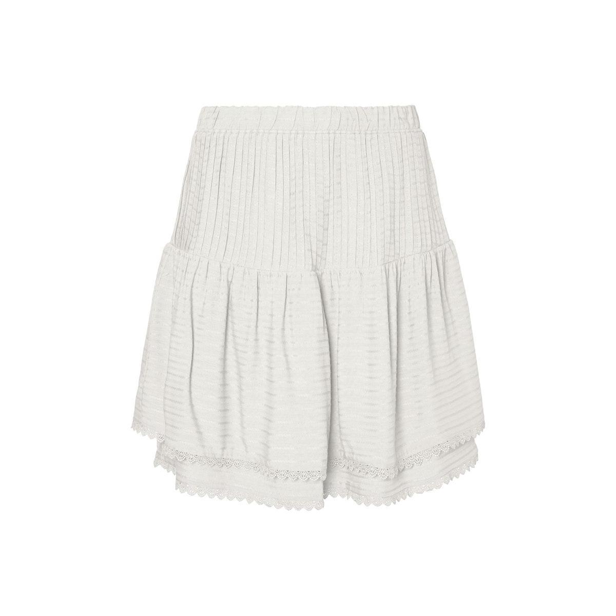 vmsiff hw short skirt wvn 10231783 vero moda rok snow white