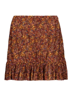 Only Rok ONLELEMA SKIRT JRS 15207450 Burnt Henna/DAZE FLOWER