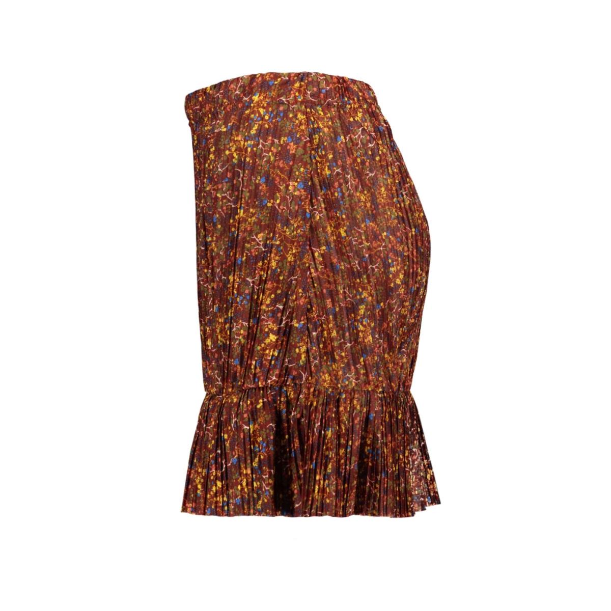 onlelema skirt jrs 15207450 only rok burnt henna/daze flower