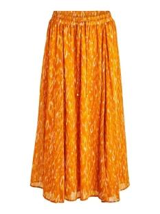 Vila Rok VISAVINA LENOA ANCLE SKIRT C12 14060352 Pumpkin Spice/LENOA