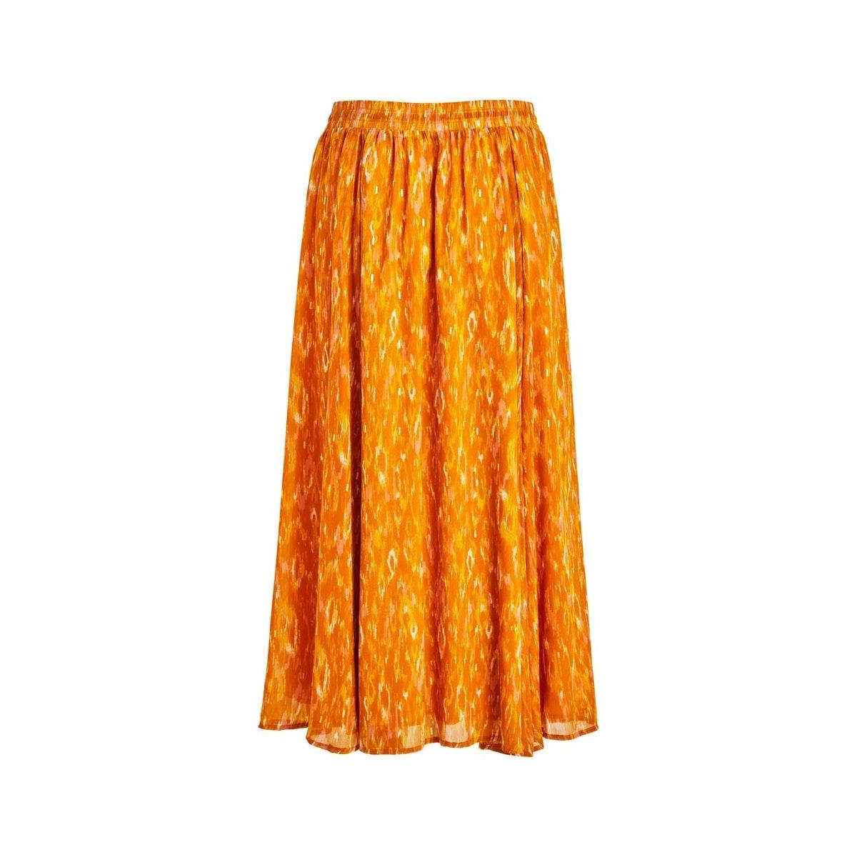 visavina lenoa ancle skirt c12 14060352 vila rok pumpkin spice/lenoa