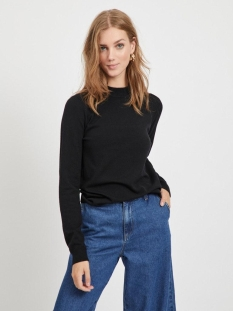Object Trui OBJTHESS L/S KNIT PULLOVER NOOS 23030144 Black