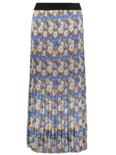 IZ NAIZ Rok PLISSE ROK 7681 FLOWER BLUE