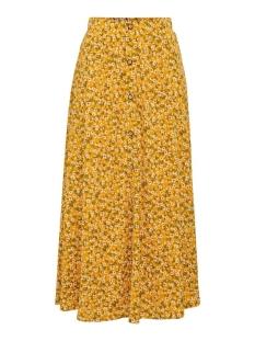 Only Rok ONLPELLA MAXI SKIRT JRS 15208376 Golden Yellow/FLOWERS 2
