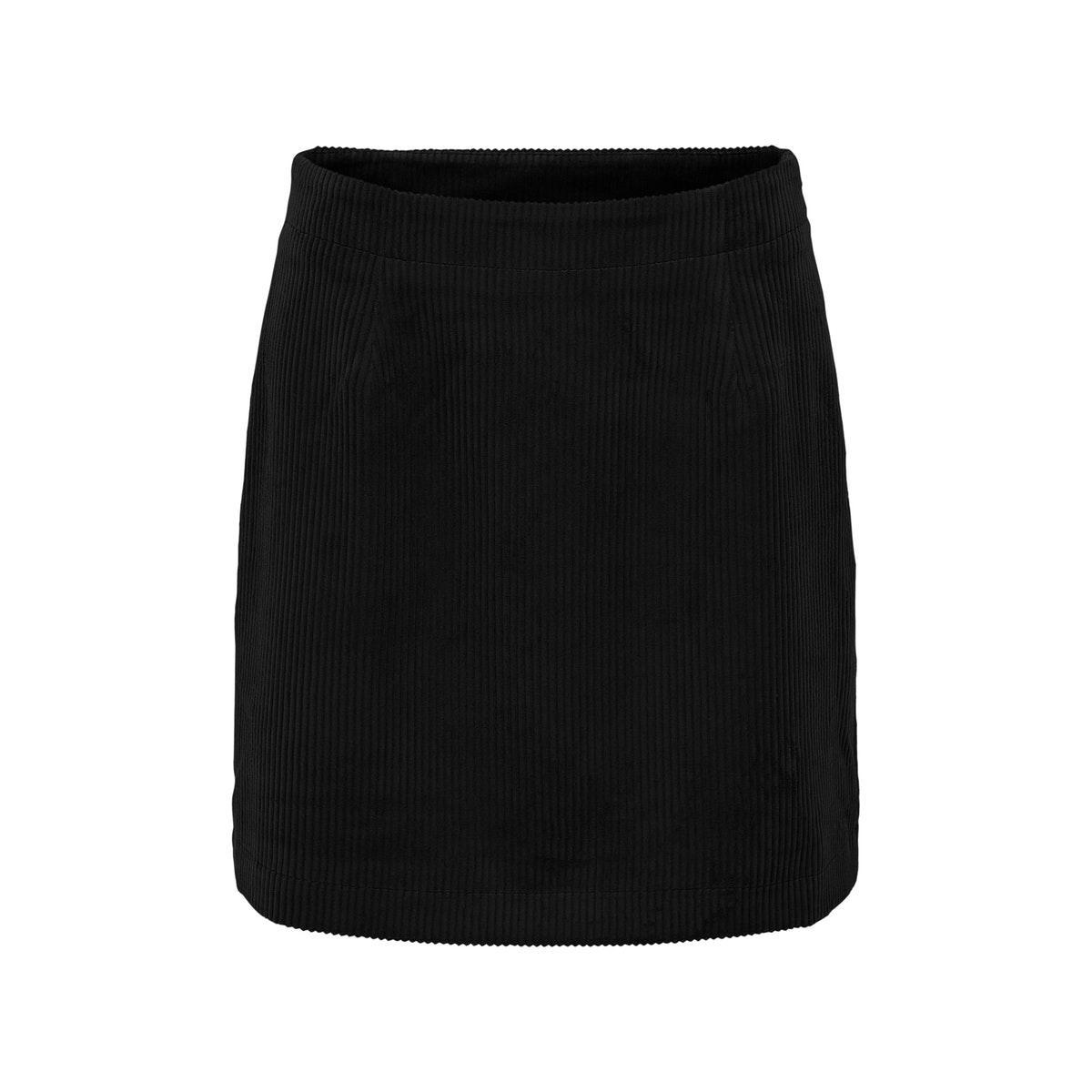 onlterry life cordoroy skirt cc otw 15207003 only rok black
