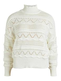 objjanny l/s knit pullover 110 23033230 object trui cloud dancer