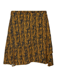 Noisy may Rok NMBEAGLE NW SHORT SKIRT 27012119 Inca Gold/BLACK