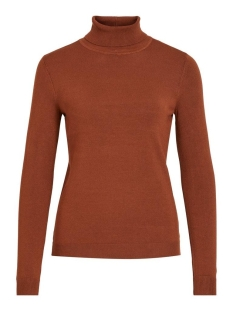 VIBOLONIA KNIT L/S ROLLNECK TOP-NOOS 14053551 Tortoise Shell