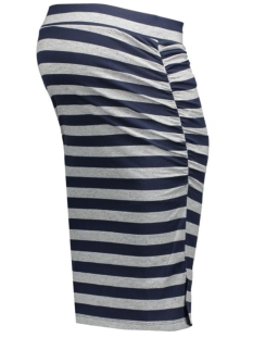 mlgitte jersey skirt 20006310 mama-licious positie rok colony blue