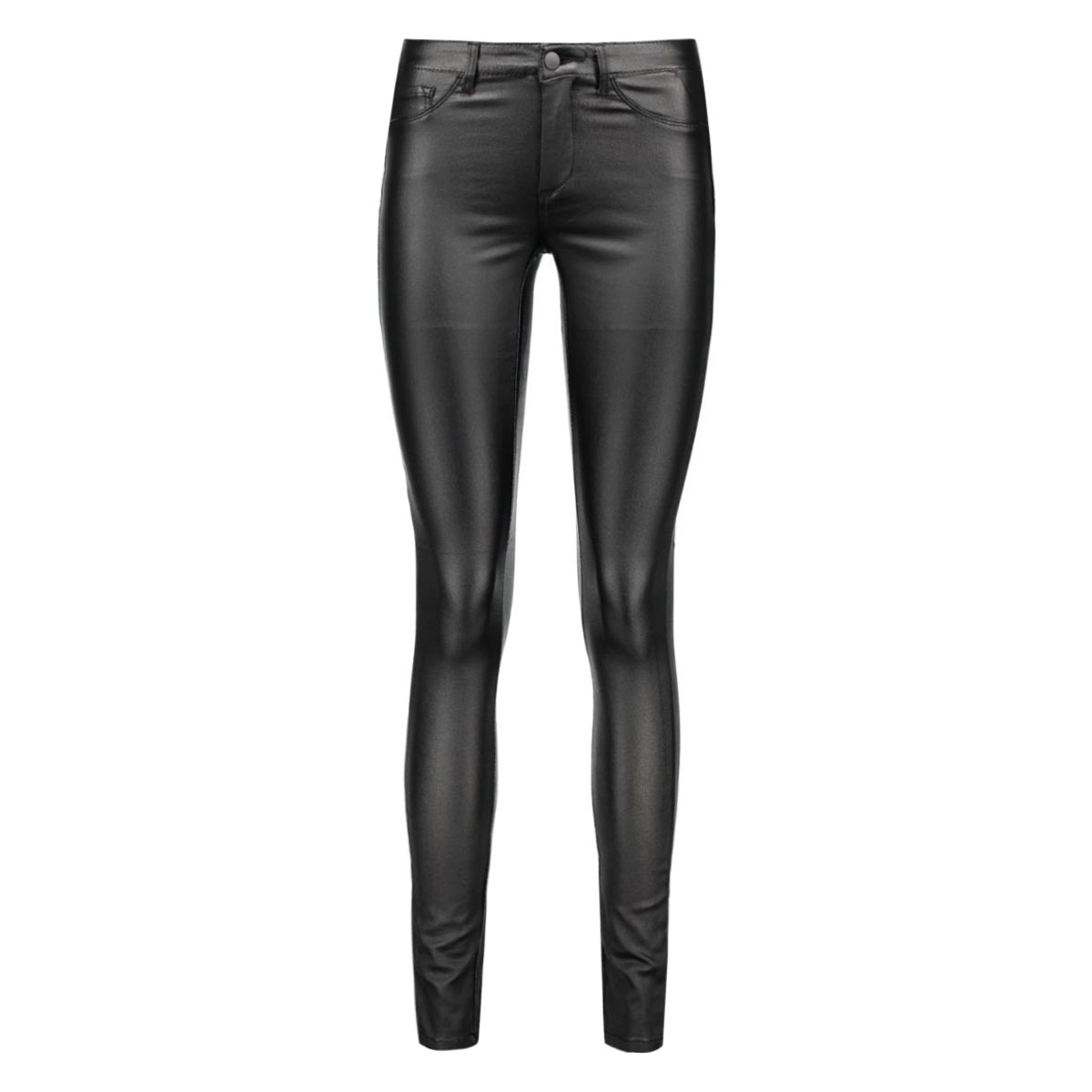 pcjust wear coated jeggings/blk noo 17078213 pieces broek black