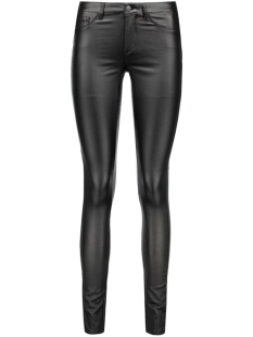 PCJUST WEAR COATED JEGGINGS/BLK NOO 17078213 Black