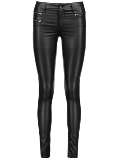 Vila Broek VICOMMIT RW ZIP COATED-NOOS 14036948 Black