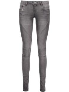 nmeve lw ss 2 zip jeans dkgr noos 1016073 noisy may jeans dark grey denim