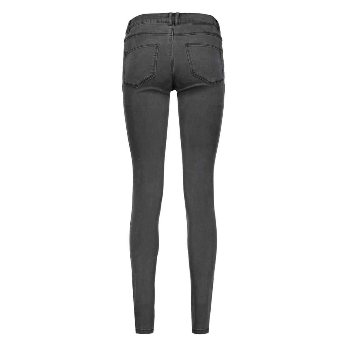vicommit lux rw 5p washed grey-noos 14036433 vila jeans grey denim