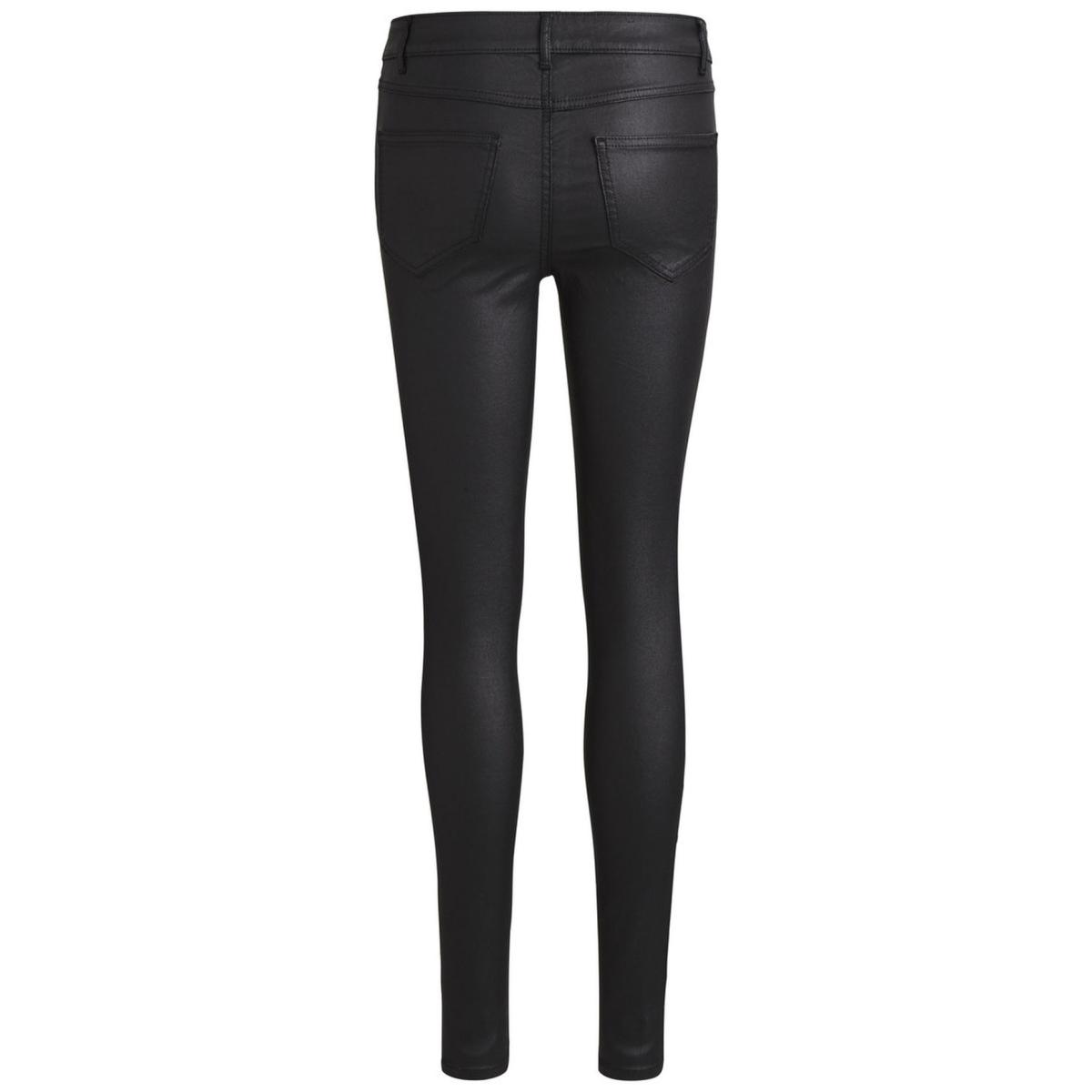 vicommit rw new coated-noos 14036194 vila broek black