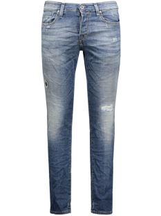 Jack & Jones Jeans JJIGLENN JJICON BL 670 INDIGO KNIT 12111062 Blue Denim