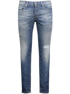 jjiglenn jjicon bl 670 indigo knit 12111062 jack & jones jeans blue denim