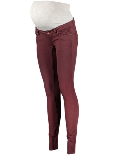 Mama-Licious Positie broek MLIDA SKINNY COLOR JEANS 20003563 Decadent Chocolate