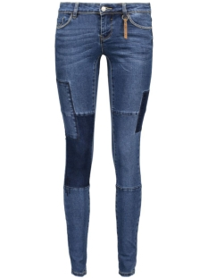 Vero Moda Jeans VMFIVE LW SLIM HANDCRAFT JEANS GU77 10161228 Medium Blue Denim