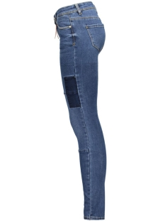 vmfive lw slim handcraft jeans gu77 10161228 vero moda jeans medium blue denim