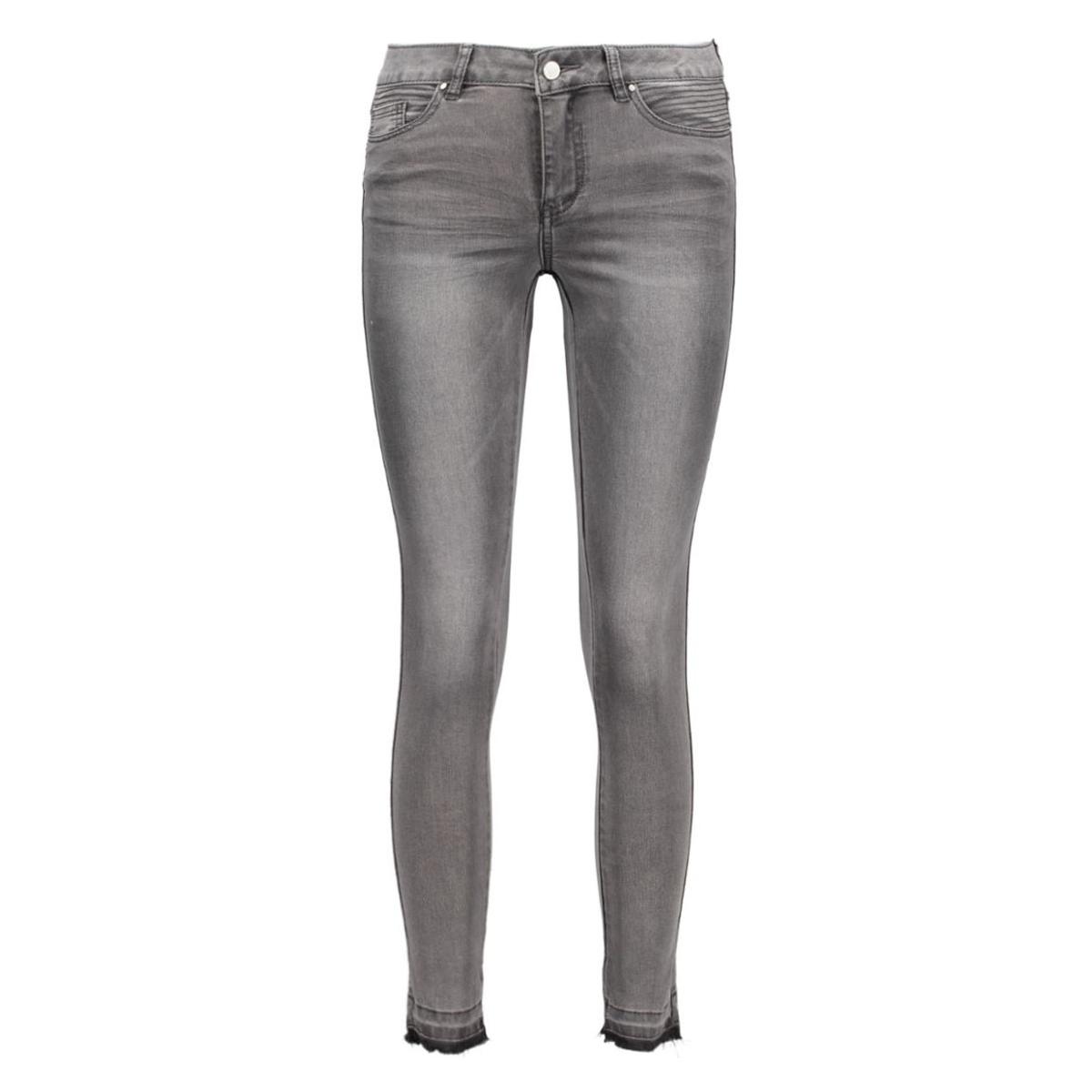 vicommit rw 5p 7/8 hk0015 rawstitch 14035516 vila jeans grey denim