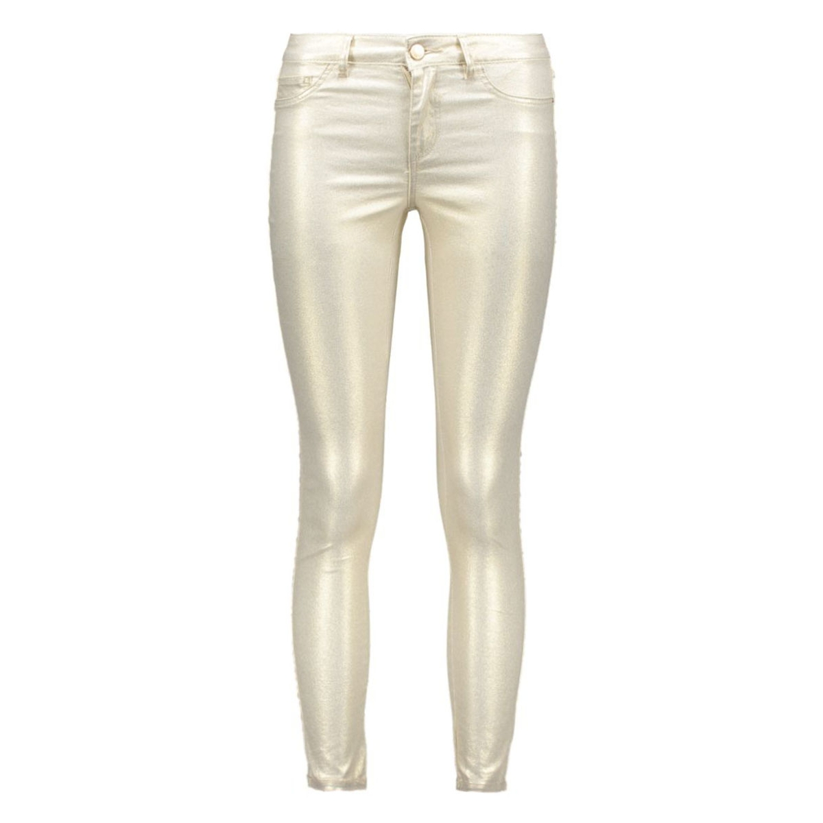 vicommit rw 5p 7/8 shimmer 14039047 vila broek frosted almond