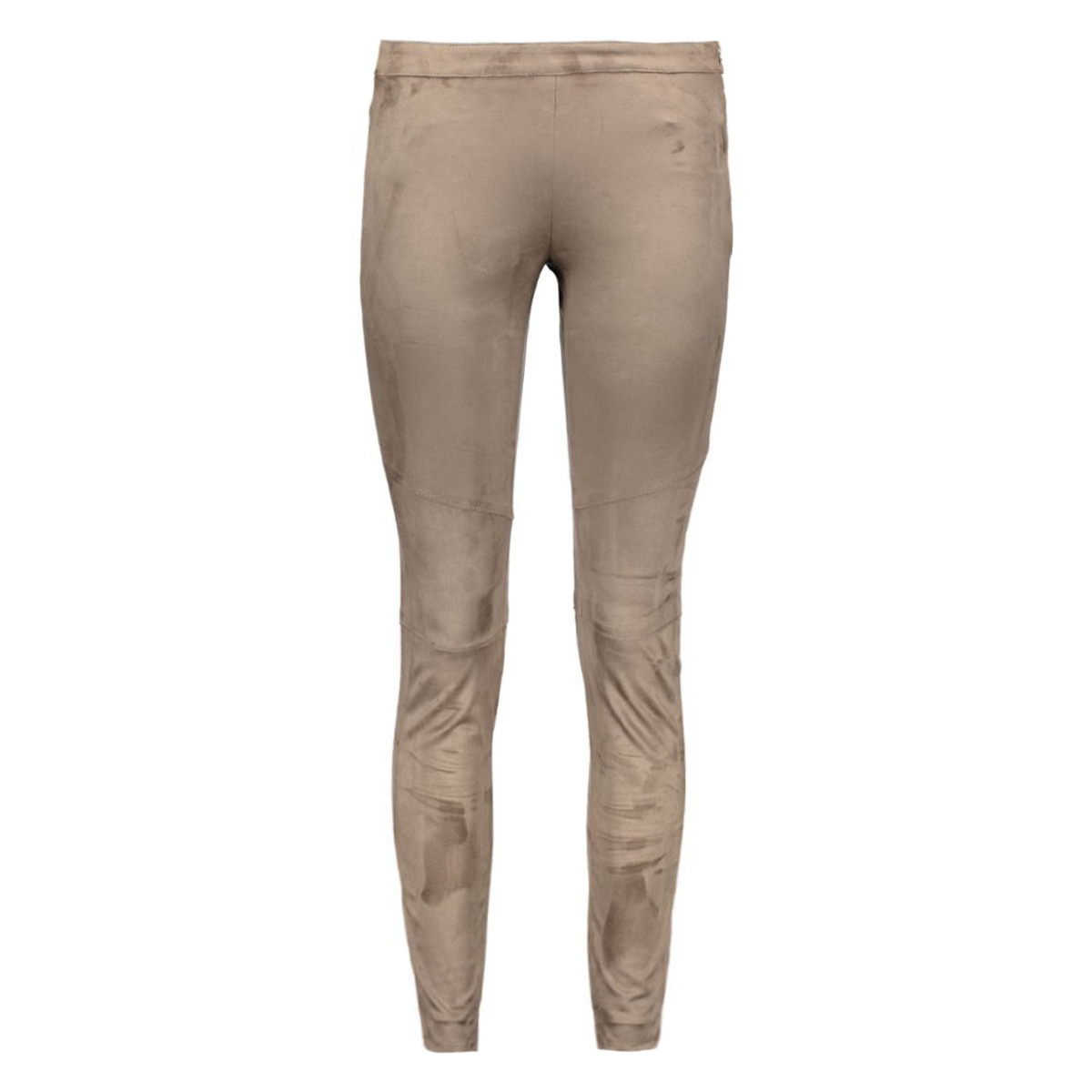 objhannah faux suede pants 23022805 object broek vetiver
