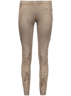 Object Broek OBJHANNAH FAUX SUEDE PANTS 23022805 Vetiver
