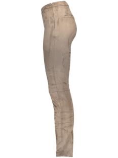 objhannah faux suede pants 23022805 object broek vetiver