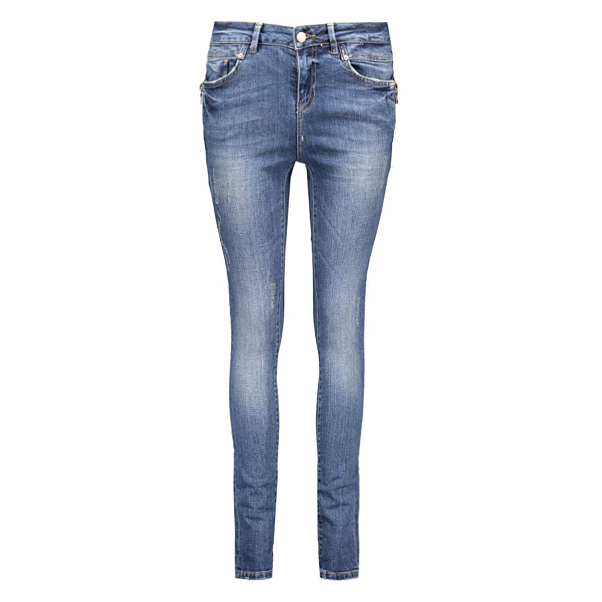 nmlucy nw destroy jeans ba057 ns 10160189 noisy may jeans medium blue denim