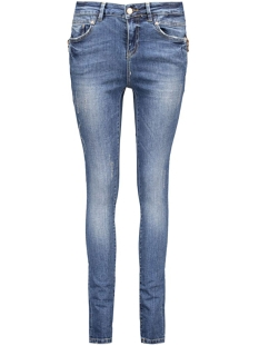NMLUCY NW DESTROY JEANS BA057 NS 10160189 Medium Blue Denim