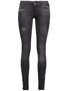 Vero Moda Jeans VMFIVE LW SUPSLIM DESTR JEANS BA032 10160927 Black/Washed