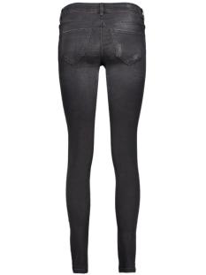 vmfive lw supslim destr jeans ba032 10160927 vero moda jeans black/washed