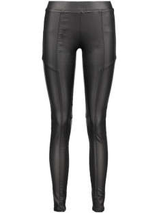 Noisy may Legging NMVICKY NW COATED CUTLINE PANTS 10163438 black/coated