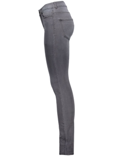 vmseven nw ss smooth jeans dk grey 10142930 vero moda jeans dark grey denim