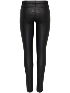 onlnew royal reg sk. biker coated noos 15121410 only broek black