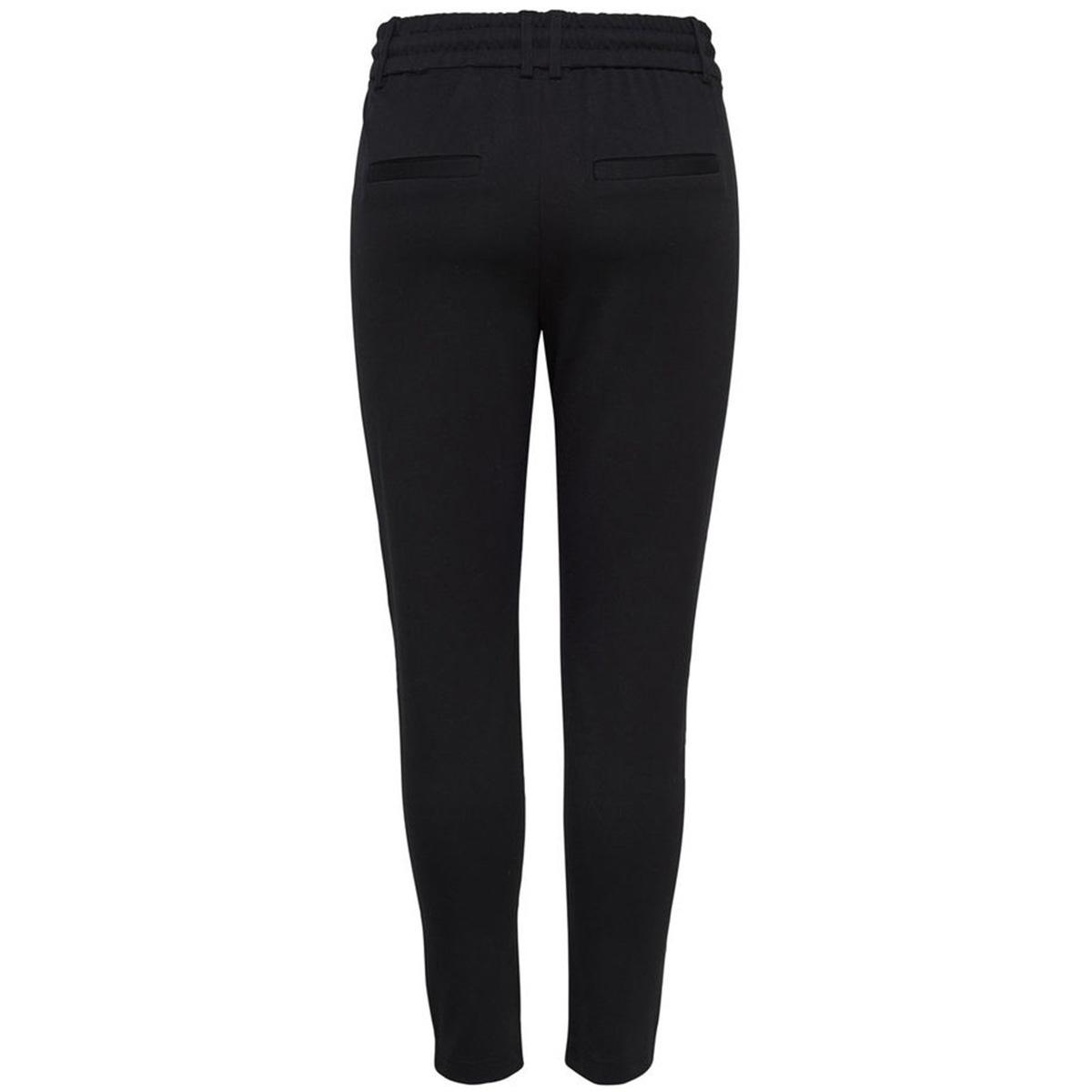 onlpoptrash easy colour pant pnt noos 15115847 only broek black