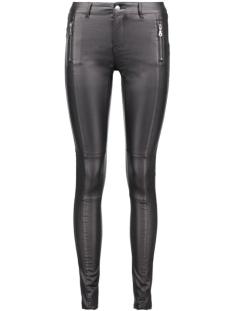 Vero Moda Broeken VMSEVEN MAGGIE NW ZIP COATED PANT NOOS  10160205 Black