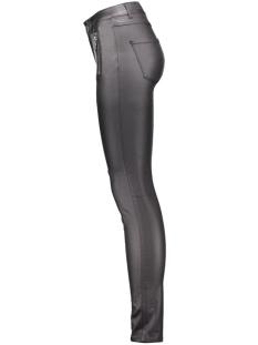 vmseven maggie nw zip coated pant n 10160205 vero moda broek black