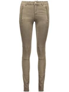 vmmaggie nw zip color pants 10160377 vero moda broek ivy green