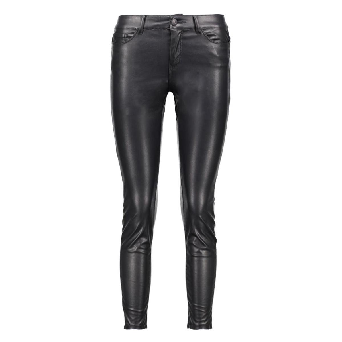 vmseven nw ankle pu pants 10171197 vero moda broek black